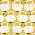 On a Spring Day Loving Swans by Cotton & Steel LV401-SU2 Sundance.