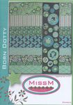 "Patchwork Quilt Pattern Miss M ""Born Dotty"""
