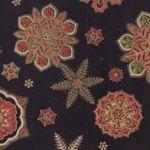 Peggy O'toole Holiday Flourish Christmas Fabric from Robert Kaufman