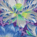 Philip Jacobs for Rowan Fabrics Leopard Lotus PWP J081 Purple