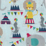 Piccadilly By Maude Asbury For Blend Fabrics 101.150.01.1 Elephants