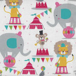 Piccadilly By Maude Asbury For Blend Fabrics 101.150.01.2 Circus Animals.