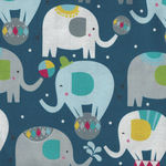 Piccadilly By Maude Asbury For Blend Fabrics 101.150.02.1 Elephants