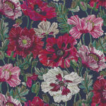"Poppy Amelie Liberty Of London Tana Lawn Width 53"" 036302116A Color Navy."