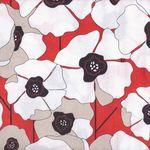 Poppy Passion by Karen Roti for Clothworks