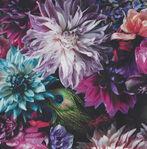 Proud As A Peacock- Dahlia by Hoffman Spectrum Digital Fabric HQ4511 453.