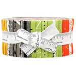 Quotation Jelly Roll by Zen Chic for Moda Fabric 1730JR.