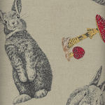 Rabbit Run By Nutex Cotton Fabrics 89780 Col 101 Deep Beige