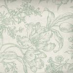 Raspberry and Cream by Marsha McCloskey for Clothworks Toile Y2059-110Mint