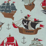 Riley Blake Designs Pirate Tales By Echo Park Paper Co. C9680 Color Blue.