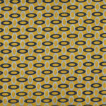 Rita By Stoff Fabrics Danish Design 4501 232 Yellow/Black.