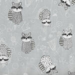 Rocky Raccoon From Stoffabrics Danish Design MCS 18-048 Vic Code 4500 911.