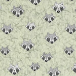 Rocky Raccoon From Stoffabrics Danish Design MCS 18-051 Vic Code 4500 919.