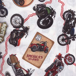 Route 66 Bikes for Blank Quilting 7433 col009