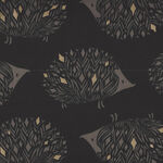 Ruby Star Society Darlings 100% Cotton Fabric Hedgehog RS5017-13M Charcoal.