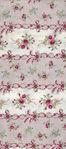 Ruru Bouquet By Quiltgate Fabrics RU2370 13C Pink Stripe Border Print
