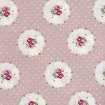 Ruru Bouquet By Quiltgate Fabrics RU2370 14C Pink