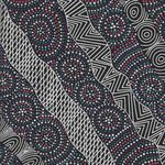 Salt Lake Black by Heather Kennedy for M&S Textiles Australia