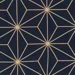 """Sashiko Wide Quilt Backing By Nutex Fabrics 108""""(280cm) 78790 Col.1 Navy."""