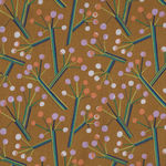 Seeds & Stems by Kathy Doughty for Free Spirit  PWMO034 Bush Lily