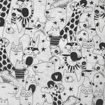Sevenberry Black and White Animals 850135 Col 1-1