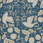 Sevenberry Cotton/Linen Mix Peace Dove 850316 Color 4 Blue.