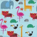 Sevenberry Fabric Jungle 850175 Colour 1