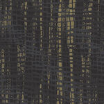 Shiny Objects Good As Gold By RJR Fabrics FF505-ON4M Charcoal/Black/Gold.