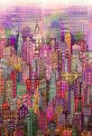 Skylines By Hoffman Fabrics HN4234 391 Blush.