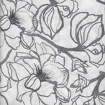 Soft Repose by Shell Rummel Steel Magnolia Colour Charcoal PWSR002.8CHAR