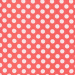 Spot On by Robert Kaufman EZC-12872-143 Coral