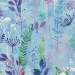 Spring Song  A Hoffman Digital Spectrum Fabric HS4769 139 Perriwinkle .