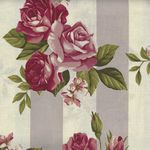 Stof Fabric Rosies Summer 4507 926 Light Marsala
