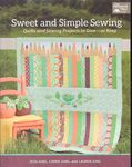 Sweet and Simple Sewing by Jesse,Carrie and Lauren Jung