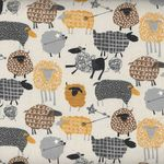 TAHTI Sheep Cotton/Linen from Nutex Fabrics 68420 colour 102