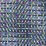 Tabby Road by Tula Pink Cat Eyes PWTP095 BLUE B