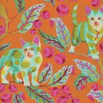 Tabby Road by Tula Pink Disco Kitty PWTP092 MARMA