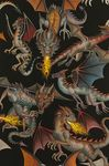 Tale Of The Dragon by Alexander Henry 7392 Colour A