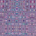 Tesselation By Mid West Textiles MTTE2205-11 Mauve/Purple.