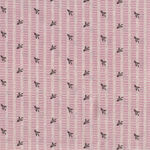 Textile Pantry by Junko Matsuda Japanese Fabric 11-0025-3 Color B Pink/Chocolate