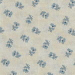 Textile Pantry by Junko Matsuda Japanese Fabric 11-018-3 Color B Cream/Blue.