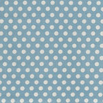 Tilda Dots Quilt Collection 130002 Dots Blue.