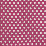 Tilda Dots Quilt Collection 130027 Dots Red.