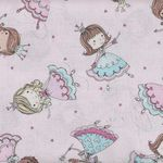 Timeless Treasures Fabrics Tiny Ballerinas Kidz 3689 Pink