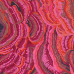 Tree Fungi by Phillip Jacobs for Rowan Fabrics and Kaffe Fassett PWPJ082 Pink