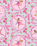 Tutus And Toe Shoes Ballerina in Circle BQ9290 090 Blank Quilting Gails Patchwor