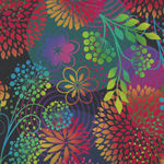 Unusual Garden 2 by Jason Yenter for In the Beginning Digital Fabric 3UGB