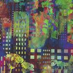 Urban Jungle by Jason Yenter for In The Beginning Fabrics Digital 2313 2UJ Colou