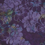 New Grape Bali Handpaints Graphic Floral HQ2136 N045