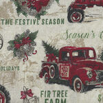 Vintage Christmas By Northcott Fabrics 23546 Col.12 Vintage Icons.